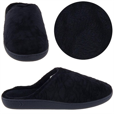 Isotoner Black Clog Slippers for Women