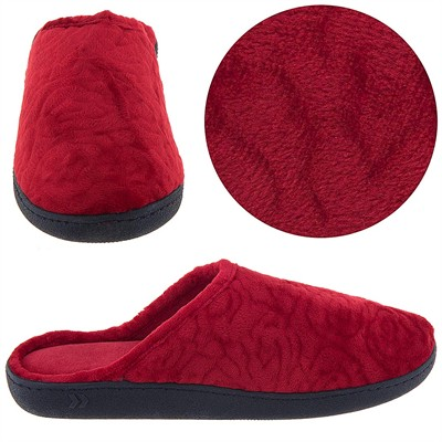 Isotoner Red Clog Slippers for Women