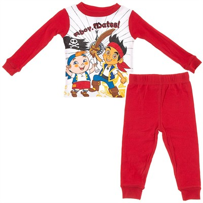 Jake and the Neverland Pirates Cotton Pajamas for Toddler Boys