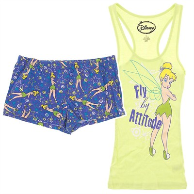 Tinker Bell Shorty Pajamas for Juniors