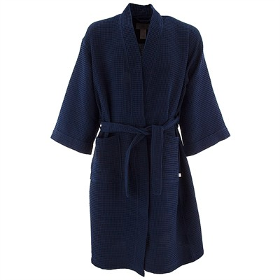 KN Men Navy Spa Robe