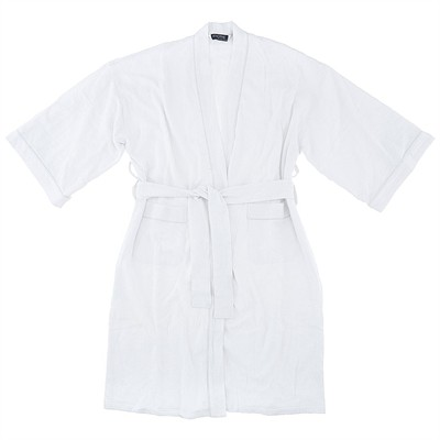 White Waffle Spa Robe for Men