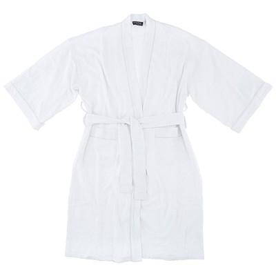 White Waffle Spa Robe for Men