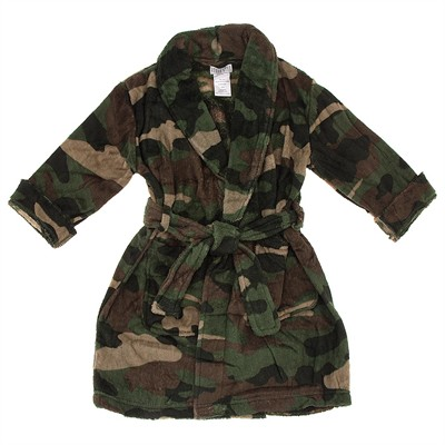 Camo Bathrobe for Boys