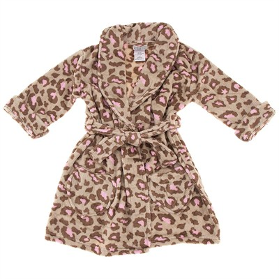 Leopard Bathrobe for Girls