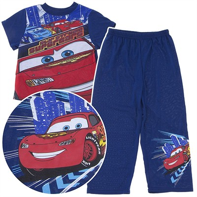 Cars Lightning McQueen Slip Stream Pajamas for Boys
