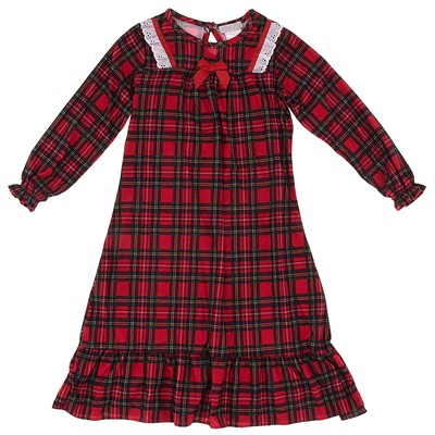 Komar Kids Red Christmas Nightgown for Girls