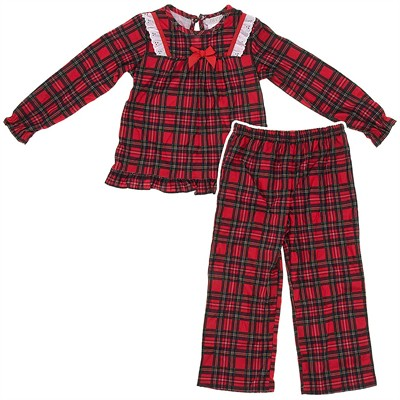 Komar Kids Red Christmas Pajamas for Girls