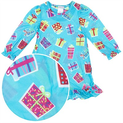 Present Nightgown for Girls