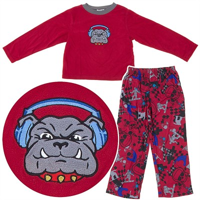 Bulldog Pajamas for Boys