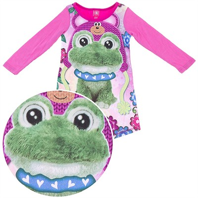 Frog Thermal Nightgown for Girls