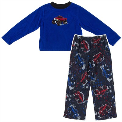Monster Truck Pajamas for Boys