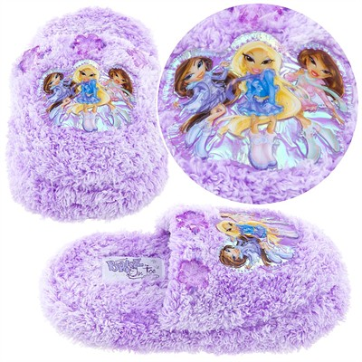 Lavender Bratz Slippers for Girls