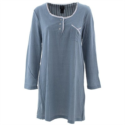 Laura Ashley Blue Dot Nightshirt for Women