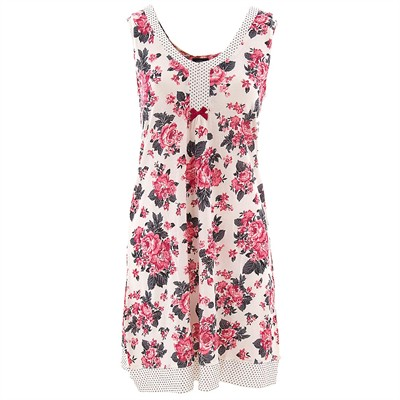 Laura Ashley English Rose Chemise for Women