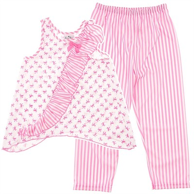 Laura Dare Bow-Tique Ruffle Pajamas for Girls