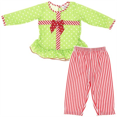 Laura Dare Jolly Christmas Pajamas for Toddler Girls
