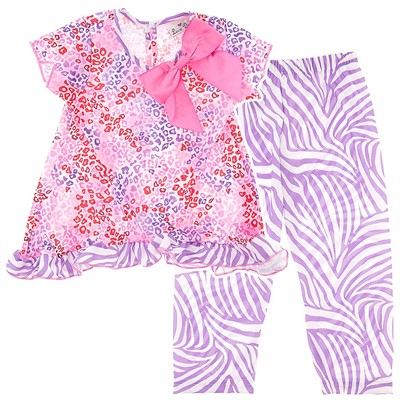 Laura Dare Dreamy Leopard Pajamas for Toddlers and Girls