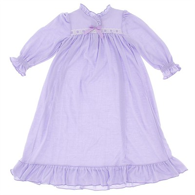 Laura Dare Lilac Jersey Nightgown for Toddlers and Girls