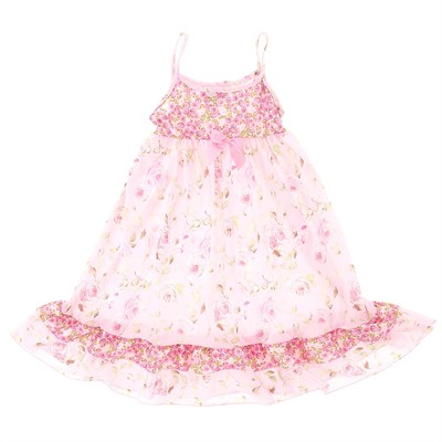 Laura Dare Secret Garden Strappy Nightgown for Girls