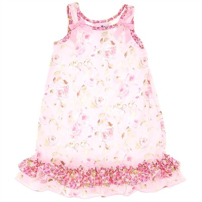 Laura Dare Secret Garden Toddler Nightgown for Girls
