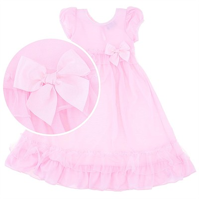 Laura Dare Pink Jersey Nightgown for Toddlers and Girls