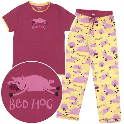 Lazy One Bed Hog Cotton Pajamas for Women