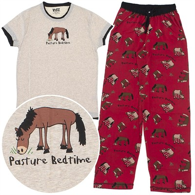 Lazy One Pasture Bedtime Cotton Pajamas for Women