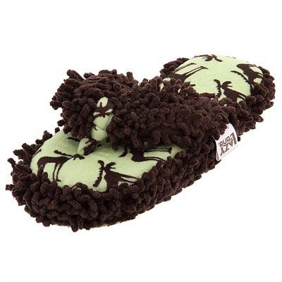 Lazy One Funky Moose Slippers for Women