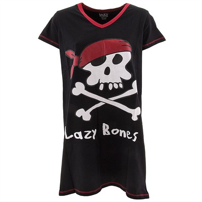 Lazy One Lazy Bones Nightshirt for Women