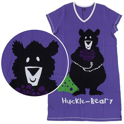 Lazy One Huckle-Berry Nightshirt for Women