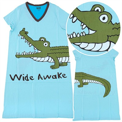 Lazy One Wide Awake Nightshirt for Women