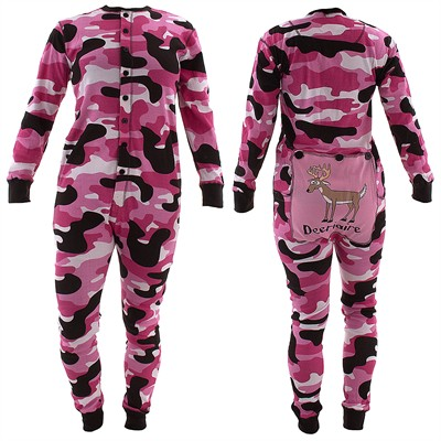 Lazy One Pink Deariaire Union Suit for Women