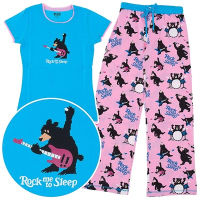 Lazy One Rock Me to Sleep Pajamas for Women