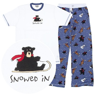 Lazy One Snowed In Unisex Pajamas
