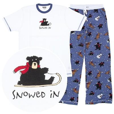 Lazy One Snowed In Unisex Pajamas