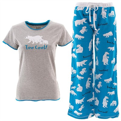 Lazy One Too Cool Pajama Set for Juniors