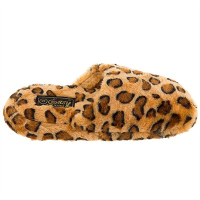 Leopard Print Novelty Slippers for Women
