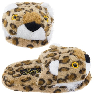 Leopard Slip On Animal Slippers for Women