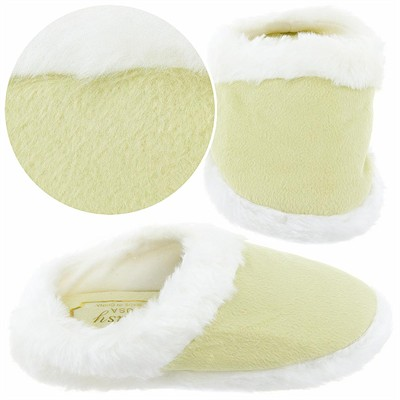 Light Green Clog Style Slippers for Girls