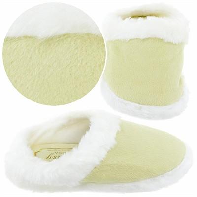 Light Green Clog Style Slippers for Girls