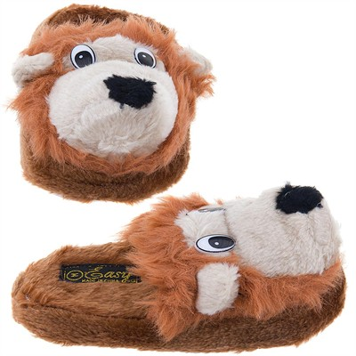 Lion Slip On Animal Slippers for Women