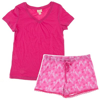 Pink Short Pajamas for Women