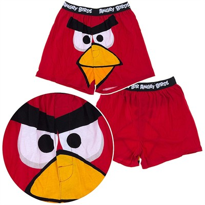 Angry Birds Red Bird Boxer Shorts for Men