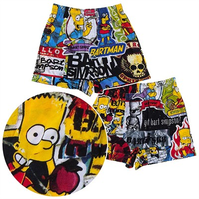 Bart Simpson Boxer Shorts for Men