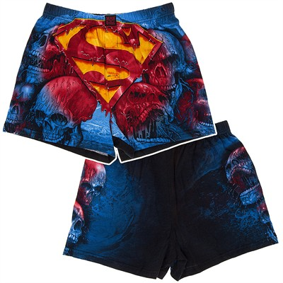 Bleeding Superman Logo Boxer Shorts for Men