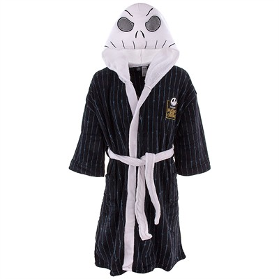 Nightmare Before Christmas Jack Skellington Robe for Adults