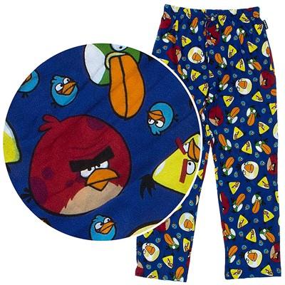 Angry Birds Royal Blue Pajama Pants for Men