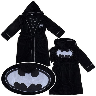 Batman the Dark Knight Hooded Bathrobe for Men