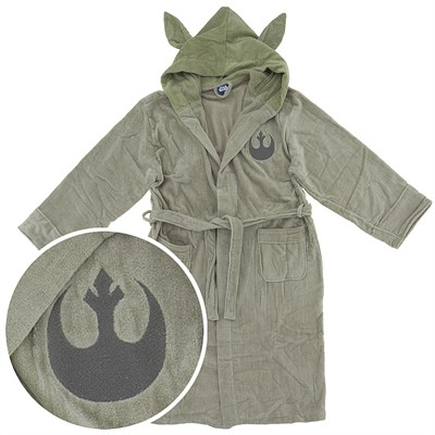 Star Wars Yoda Terry Velour Bath Robe for Men